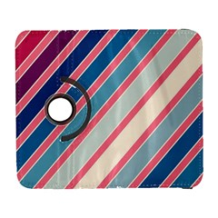 Colorful Lines Samsung Galaxy S  Iii Flip 360 Case by Valentinaart