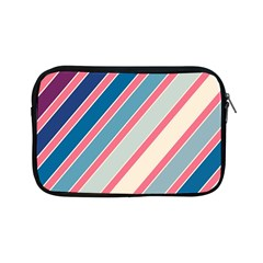 Colorful Lines Apple Ipad Mini Zipper Cases by Valentinaart