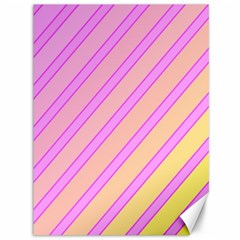 Pink And Yellow Elegant Design Canvas 36  X 48   by Valentinaart