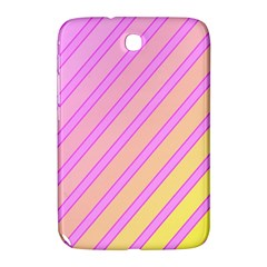 Pink And Yellow Elegant Design Samsung Galaxy Note 8 0 N5100 Hardshell Case  by Valentinaart