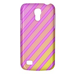 Pink And Yellow Elegant Design Galaxy S4 Mini by Valentinaart