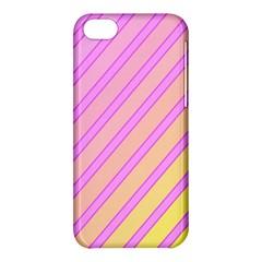 Pink And Yellow Elegant Design Apple Iphone 5c Hardshell Case by Valentinaart