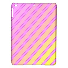 Pink And Yellow Elegant Design Ipad Air Hardshell Cases by Valentinaart