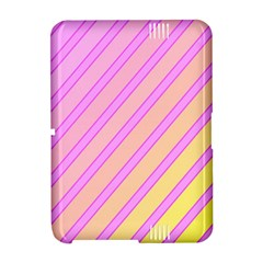 Pink and yellow elegant design Amazon Kindle Fire (2012) Hardshell Case