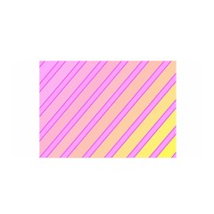 Pink And Yellow Elegant Design Satin Wrap by Valentinaart
