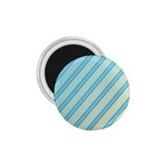 Blue Elegant Lines 1 75  Magnets by Valentinaart