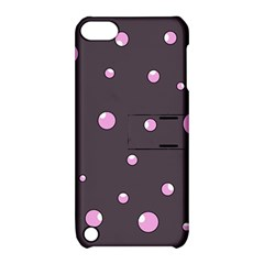 Pink Bubbles Apple Ipod Touch 5 Hardshell Case With Stand by Valentinaart