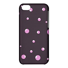 Pink Bubbles Apple Iphone 5c Hardshell Case by Valentinaart