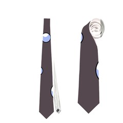 Blue Bubbles Neckties (two Side)  by Valentinaart