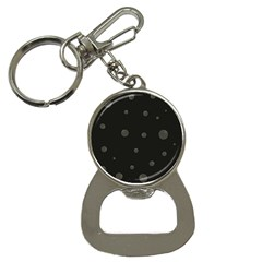 Gray Bubbles Bottle Opener Key Chains