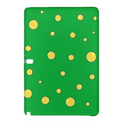 Yellow Bubbles Samsung Galaxy Tab Pro 10 1 Hardshell Case by Valentinaart