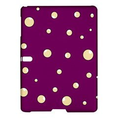 Purple And Yellow Bubbles Samsung Galaxy Tab S (10 5 ) Hardshell Case  by Valentinaart