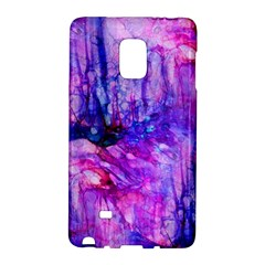 Purple Alcohol Ink Abstract Galaxy Note Edge by KirstenStar
