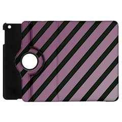 Elegant Lines Apple Ipad Mini Flip 360 Case by Valentinaart