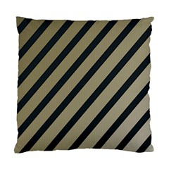 Decorative Elegant Lines Standard Cushion Case (one Side) by Valentinaart