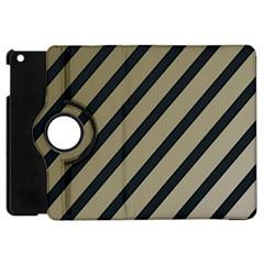 Decorative Elegant Lines Apple Ipad Mini Flip 360 Case by Valentinaart