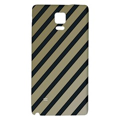 Decorative Elegant Lines Galaxy Note 4 Back Case by Valentinaart