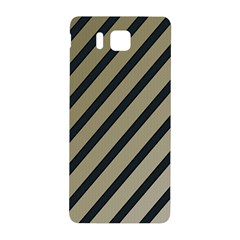 Decorative Elegant Lines Samsung Galaxy Alpha Hardshell Back Case by Valentinaart