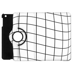 Simple Lines Apple Ipad Mini Flip 360 Case by Valentinaart