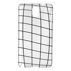 Simple Lines Samsung Galaxy Note 3 N9005 Hardshell Case by Valentinaart