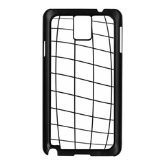Simple Lines Samsung Galaxy Note 3 N9005 Case (black) by Valentinaart