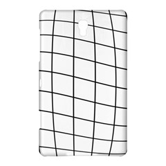 Simple Lines Samsung Galaxy Tab S (8 4 ) Hardshell Case  by Valentinaart