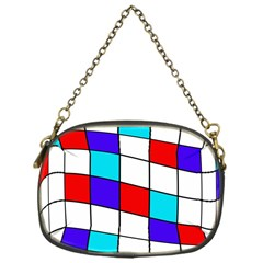 Colorful Cubes  Chain Purses (one Side)  by Valentinaart