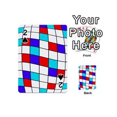 Colorful cubes  Playing Cards 54 (Mini)  by Valentinaart