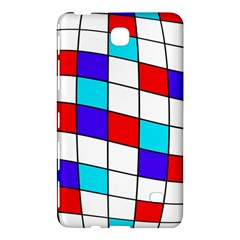 Colorful Cubes  Samsung Galaxy Tab 4 (7 ) Hardshell Case  by Valentinaart