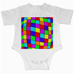 Colorful Cubes Infant Creepers by Valentinaart
