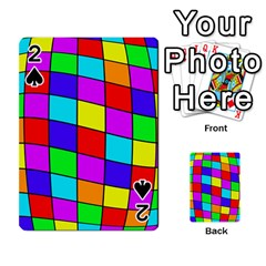 Colorful Cubes Playing Cards 54 Designs  by Valentinaart