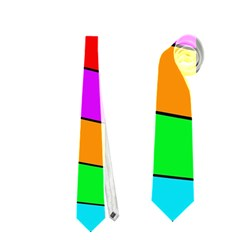 Colorful Cubes Neckties (two Side)