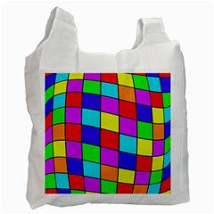 Colorful Cubes Recycle Bag (two Side)