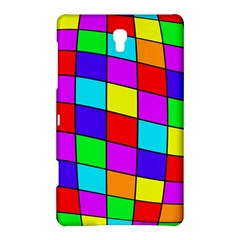 Colorful cubes Samsung Galaxy Tab S (8.4 ) Hardshell Case  by Valentinaart
