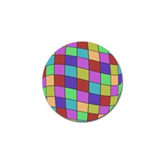 Colorful Cubes  Golf Ball Marker (4 Pack) by Valentinaart
