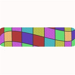 Colorful Cubes  Large Bar Mats by Valentinaart
