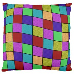 Colorful Cubes  Standard Flano Cushion Case (two Sides) by Valentinaart