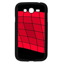 Red Abstraction Samsung Galaxy Grand Duos I9082 Case (black) by Valentinaart