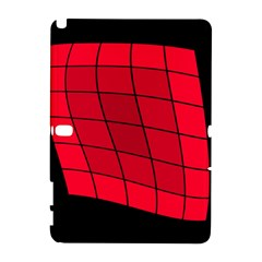 Red Abstraction Samsung Galaxy Note 10 1 (p600) Hardshell Case by Valentinaart