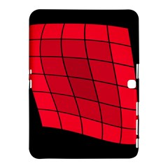 Red Abstraction Samsung Galaxy Tab 4 (10 1 ) Hardshell Case  by Valentinaart