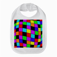 Colorful Cubes  Bib by Valentinaart