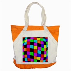 Colorful Cubes  Accent Tote Bag by Valentinaart