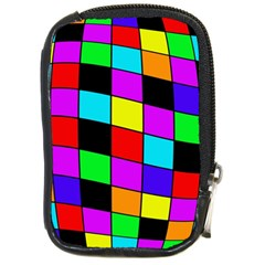 Colorful Cubes  Compact Camera Cases by Valentinaart