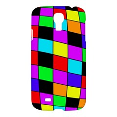 Colorful Cubes  Samsung Galaxy S4 I9500/i9505 Hardshell Case by Valentinaart