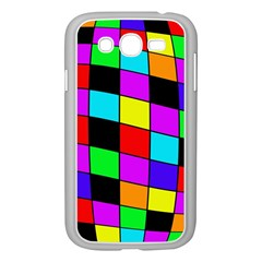 Colorful Cubes  Samsung Galaxy Grand Duos I9082 Case (white) by Valentinaart