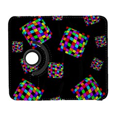 Flying  Colorful Cubes Samsung Galaxy S  Iii Flip 360 Case by Valentinaart