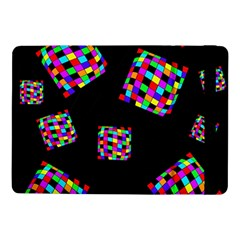 Flying  Colorful Cubes Samsung Galaxy Tab Pro 10 1  Flip Case by Valentinaart