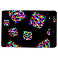 Flying  Colorful Cubes Ipad Air 2 Flip by Valentinaart