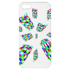 Colorful Abstraction Apple Iphone 5 Hardshell Case by Valentinaart