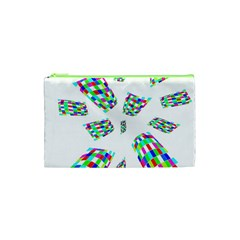 Colorful Abstraction Cosmetic Bag (xs) by Valentinaart